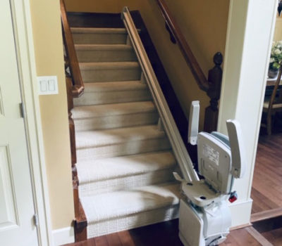 Two Elan Stairlifts Installed in Surrey