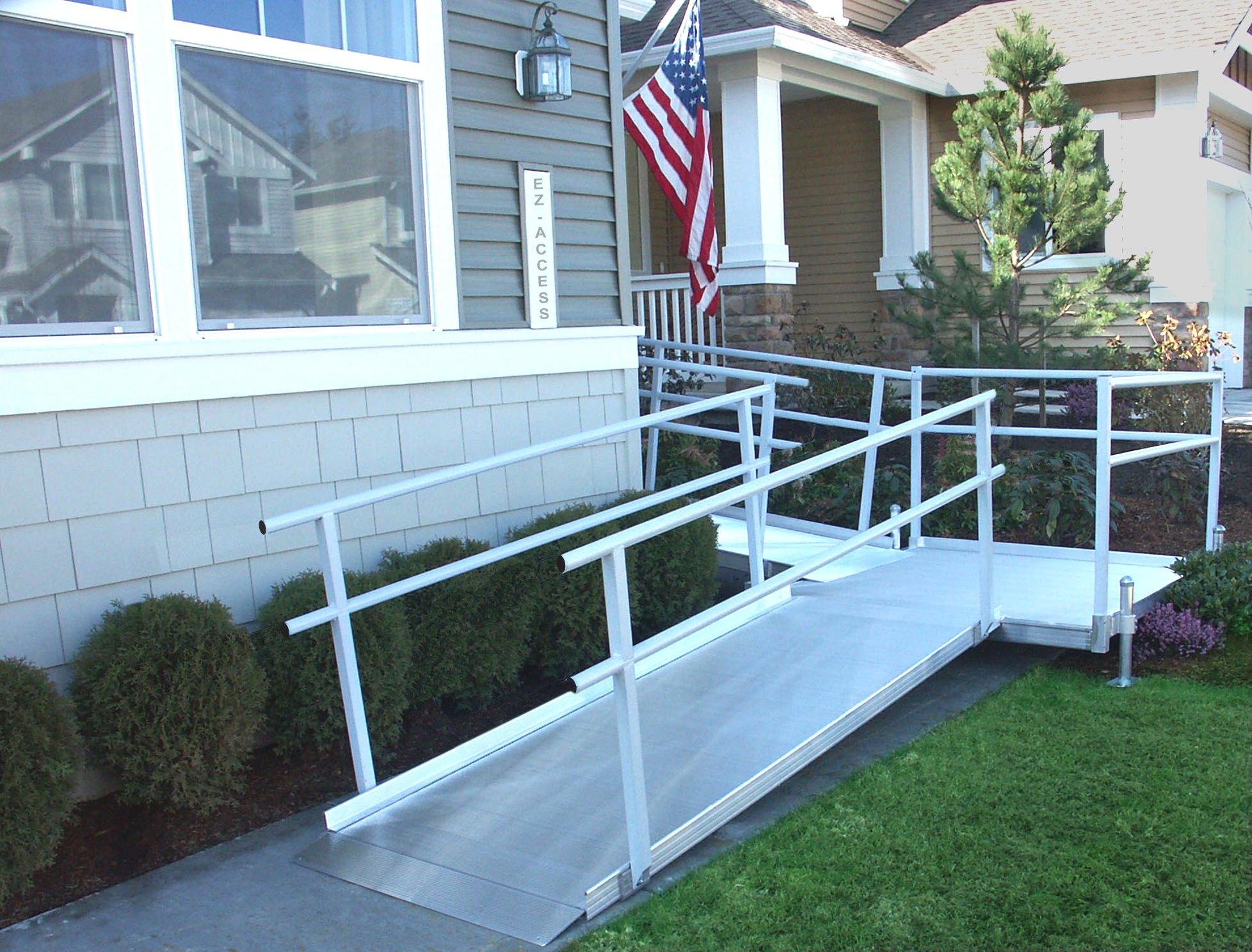 Ez access modular ramps hme stairlifts for Prefab wheelchair ramp
