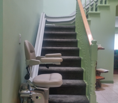 Curved Stairlift in North Vancouver