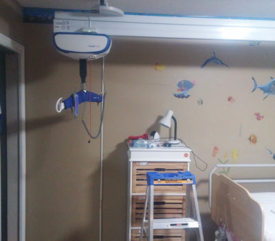 Recent XY Ceiling Track installation in BC