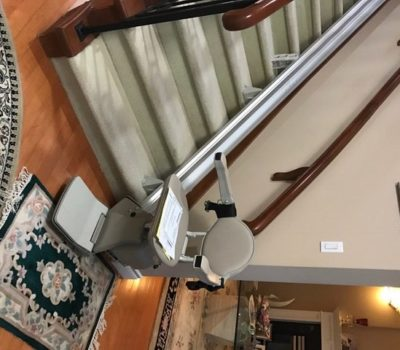 Elan Straight Stairlift Installation in North Vancouver