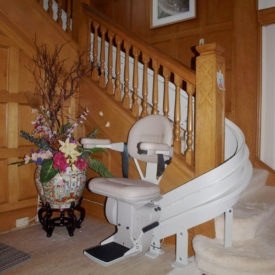 HME | Curved Stair Lift Installation