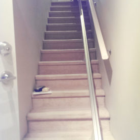 HME | Straight Stair Lift Installation